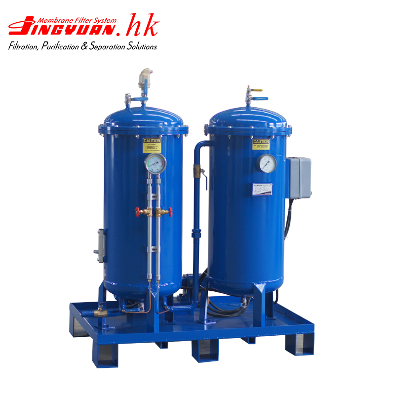 Transformer hydraulic oil system filtration machine