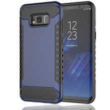 2 In 1 TPU Hybrid PC Shockproof Back Cover Case For Galaxy S8