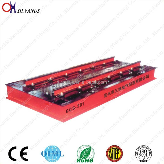 electronic dynamic railway weighing scale