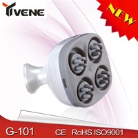 New Products 360 Roller Electric Vibrating Head Massage