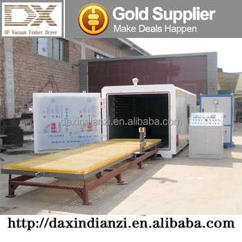 Full Automatic Vacuum Wood Drying System Seasoning Plant From DAXIN