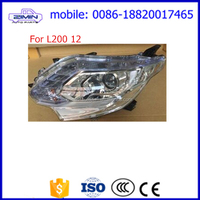 head lamp headlight used for Mitsubishi L200 Triton Low with higher 2012 to 2015 2016