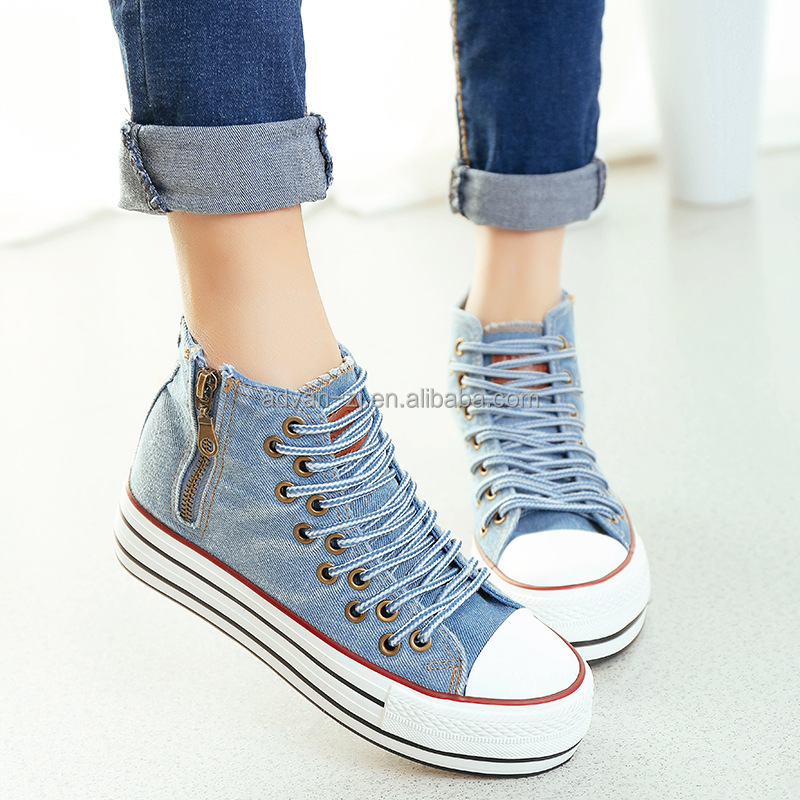 popular rubber vulcanized canvas shoes classic casual