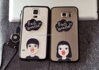 Manufacturer Mobile Phone Case Cover for Samsung ,cartoon lover cover case