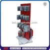 TSD-W109 Custom grocery store free standing rotating hanging display stand,accessories display shelf,swivel display rack