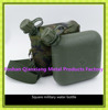 High quality 2 liter plastic square water bottle military canteen