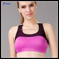 New Design Vest Type Summer Women Raceback Sports Wear Fitness Padded Running Gym Yoga Bra