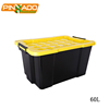 60L Popular Design Multi Size Industrial Plastic Storage Containers