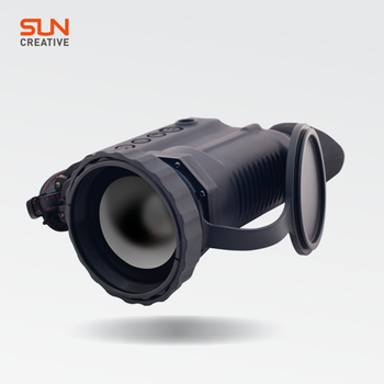 Night vision thermal hunting binoculars with 60mm F# 0.8 motorised focusing lens