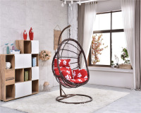 outdoor wire mesh outdoor chair small hanging chair rattan swing basket for export high quality