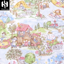pajamas flannel fabric 100 cotton printed cotton flannel wholesale cheap factory price
