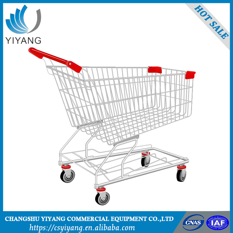 Best selling practicable folding shopping trolley smart cart