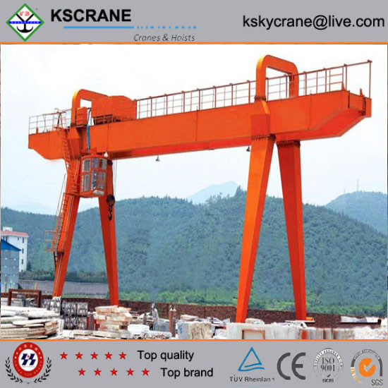 Made in China 16tons U-Shaped Legs single girder gantry crane with competitive advantage