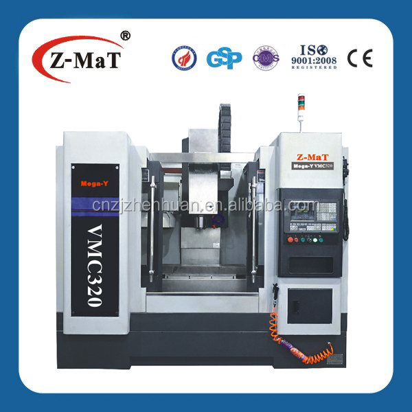 VMC320 cnc small milling machine/cnc mini vertical machining center Fanuc system