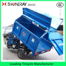 Cheap sale cargo truck car tipper cargo tricycle for garbage