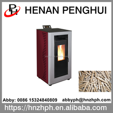 Happy home modern portable wood biomass pellet stove
