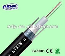 GYXTW 12 core single mode fiber optic cable for indoor/ outdoor distribution
