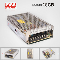 201W constant voltage MS-201-24 led power supply 24V 8A switching power supply led driver
