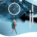 Silver dream catcher natural stone indian dream catchers MS6120