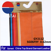 New Design fashion garment leatherpu material faux leather fabric for clothing