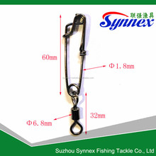 Longline Fishing Snap With Rolling Swivel