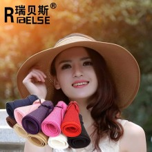 fashion sun visor hats cheap lady wholesale hats paper straw hat
