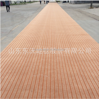 100% polyester non woven carpet use for hotel in China