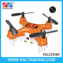 Popular 2.4G 4 channel mini rc drone toy with camera for children