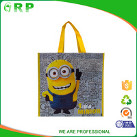 Cheap price logo design eco friendly pp non woven tote bag
