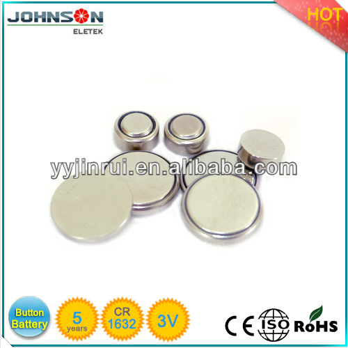 Hot sale lithium 3 Volt cell button battery cr1632 holder