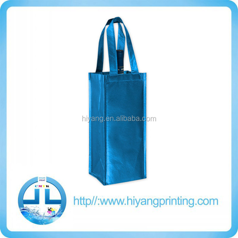 Handled PP Non woven shopping bag, promotional bag, wine bag