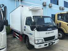 Hot sale used refrigerator van truck for meat and fish low price
