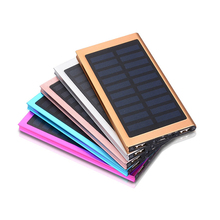 2018 ultra slim solar power bank 20000mah power bank for reselling with free logo