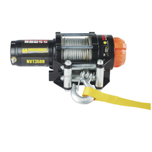 Mini 12v electric portable winch 3500lbs NVT3500