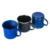 Hot selling 350ml stainless steel Speckle Camping Enamel Mug for small orders in USA