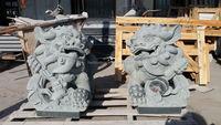 Cheap China G633 Grey Granite Kirin Statue