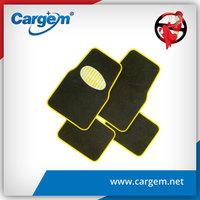 CARGEM Fashion yellow car interior carpet mat