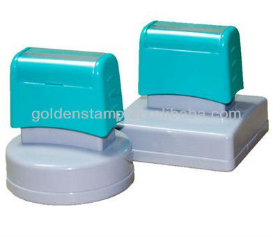 Identity Theft Protection Stamp Seal Roller Self Inking Stock Stamp Guard Your ID Confidentiality