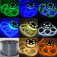 12V Waterproof Dimmable Duralight chasing color changing car decoration multicolor led light rope