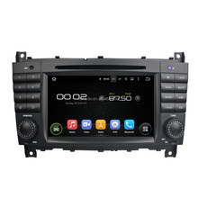 Support original car rear camera and amplifier and USB android 7.1.2 car stereo system for C-Class W203/CLC G Class W467