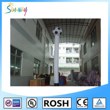 SUNWAY Customized Footballs Inflatable Air Dancer Blower, Inflatable Air Dancing Ballons