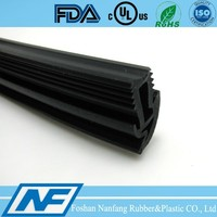 15MM extruded V bus window rubber seal