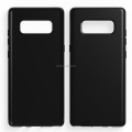 clear Transparent soft mobile phone case for Sam sung note 8 tpu back cover