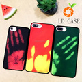 Cool new launched thermal change color phone case for iPhone