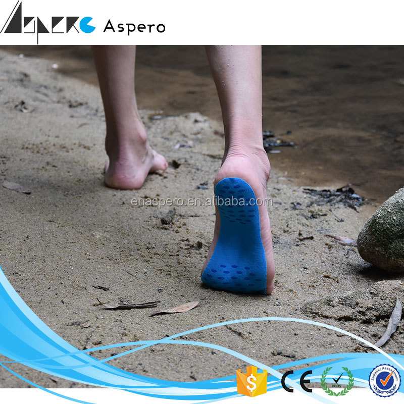 Wholesale New Design Invisible Sticker Shoes stick on feet for beach Waterproof Foot Pads Stick On Soles