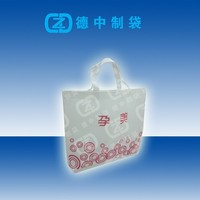 Logo printed non woven tote shopping bags for cloth packing
