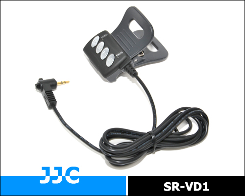 JJC SR-VD1 Remote Controller for Sony Handycam with LANC or ACC connector