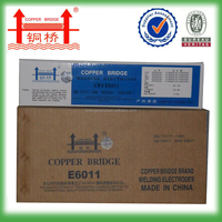 Passed BV CE ISO SONCAP certificate low carbon steel copper bridge brand aws e6013 welding rod 3.2*350mm