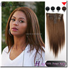 Hot Selling Top Quality 100% Unprocessed Remy human hair full head Best Quality clip hair bun pieces virgin malaysian