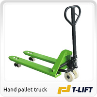 China made 2.5ton hand pallet truck with nylon wheel